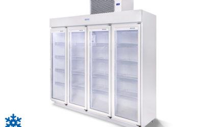 Expositor 4 Portas 2.150 Litros – Congelados
