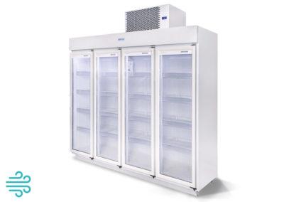 Expositor 4 Portas 2.150 Litros – Resfriados