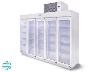 Expositor 5 Portas 2.700 Litros – Resfriados