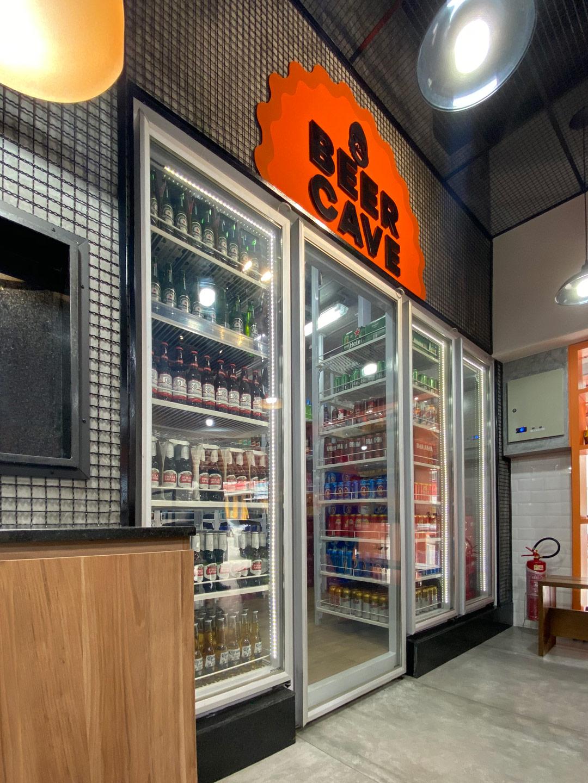 Beer Cave Zero Grau