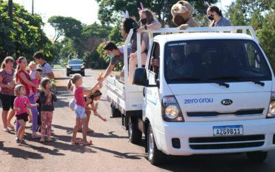 Zero Grau realiza Caravana de Páscoa em Nova Santa Rosa
