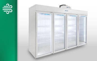 Expositor Modular para Resfriados – 4 Portas